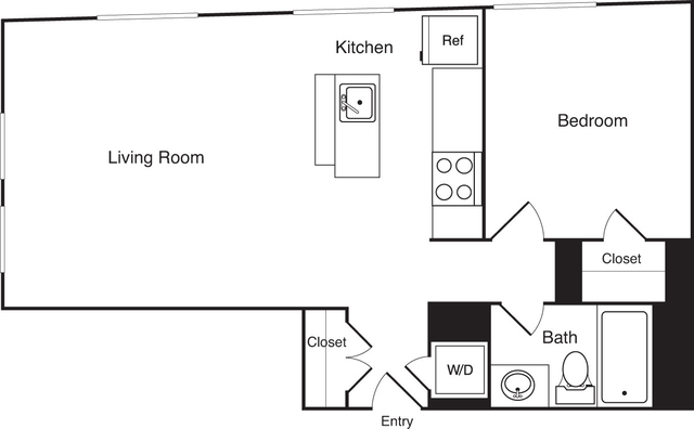 1 Bedroom, Financial District Rental in Boston, MA for $2,630 - Photo 2