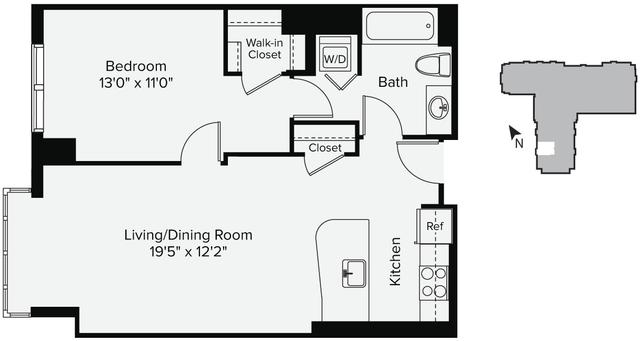 1 Bedroom, East Cambridge Rental in Boston, MA for $2,691 - Photo 1