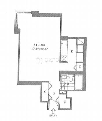 Studio, Yorkville Rental in NYC for $2,795 - Photo 2