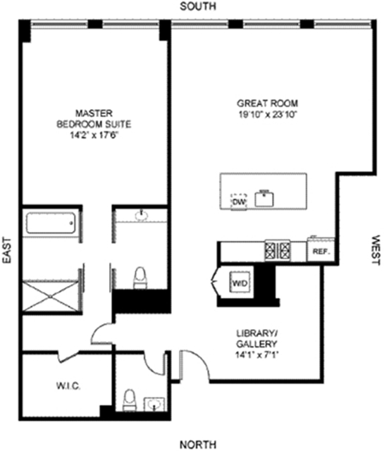 1 Bedroom, SoHo Rental in NYC for $10,500 - Photo 2