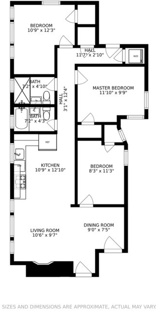 3 Bedrooms, Park West Rental in Chicago, IL for $3,499 - Photo 2