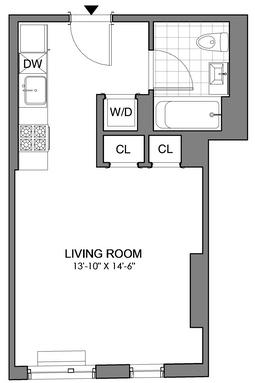 Studio, Williamsburg Rental in NYC for $2,555 - Photo 2