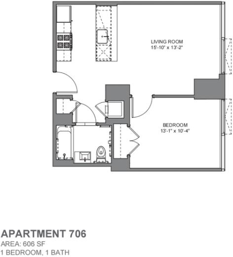 1 Bedroom, DUMBO Rental in NYC for $3,163 - Photo 2