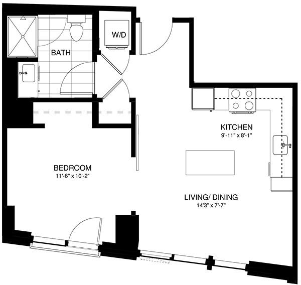 1 Bedroom, Shawmut Rental in Boston, MA for $2,908 - Photo 2