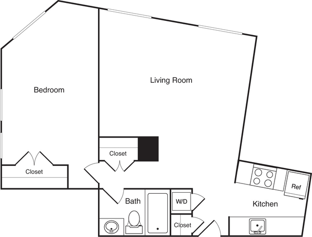1 Bedroom, Financial District Rental in Boston, MA for $2,615 - Photo 1