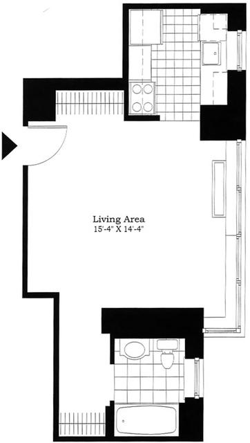 Studio, East Harlem Rental in NYC for $2,795 - Photo 2