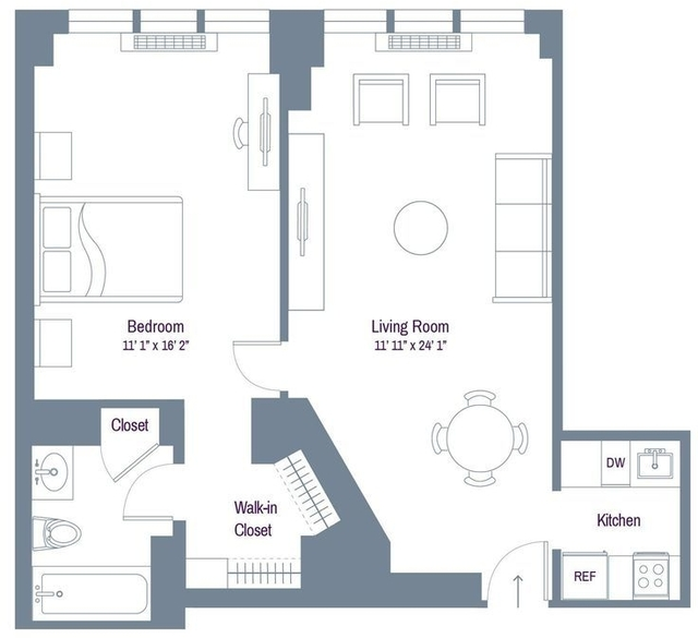 1 Bedroom, Rose Hill Rental in NYC for $3,071 - Photo 1