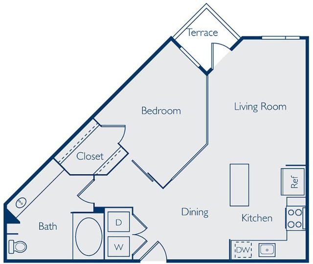 1 Bedroom, Van Zandt Park Rental in Dallas for $1,265 - Photo 2
