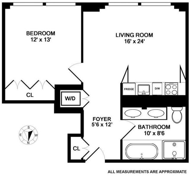 1 Bedroom, Midtown East Rental in NYC for $4,300 - Photo 2