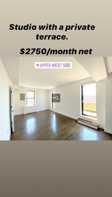 Studio, Upper West Side Rental in NYC for $2,750 - Photo 2