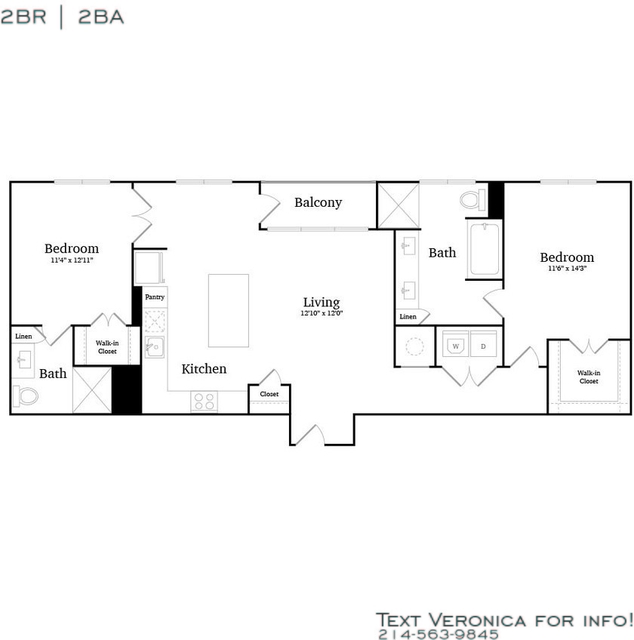 2 Bedrooms, Lake Cliff Rental in Dallas for $2,334 - Photo 2