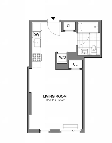 Studio, Williamsburg Rental in NYC for $2,371 - Photo 2