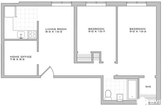 2 Bedrooms, Alphabet City Rental in NYC for $4,193 - Photo 1