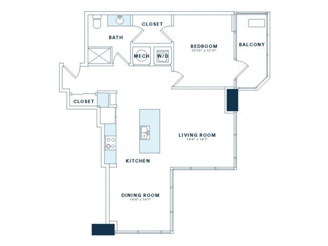 1 Bedroom, Victory Park Rental in Dallas for $2,465 - Photo 2