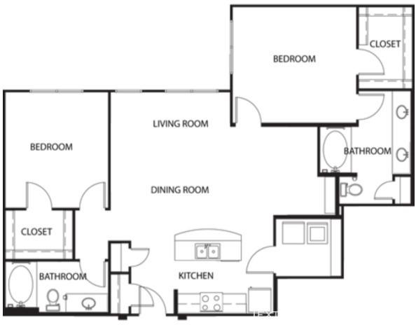 2 Bedrooms, Van Zandt Park Rental in Dallas for $2,760 - Photo 2