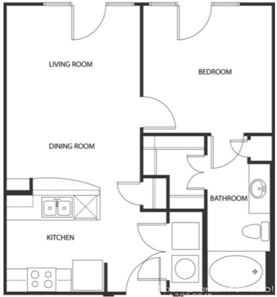 1 Bedroom, Van Zandt Park Rental in Dallas for $2,564 - Photo 2