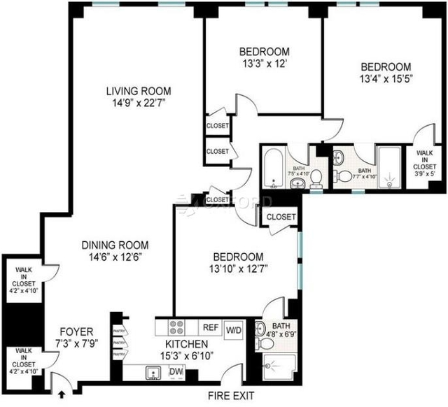 3 Bedrooms, Manhattan Valley Rental in NYC for $5,915 - Photo 2