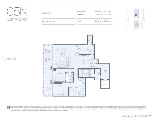 2 Bedrooms, Village of Key Biscayne Rental in Miami, FL for $8,950 - Photo 2