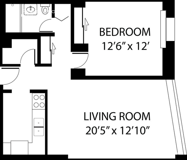 1 Bedroom, Uptown Rental in Chicago, IL for $1,512 - Photo 2