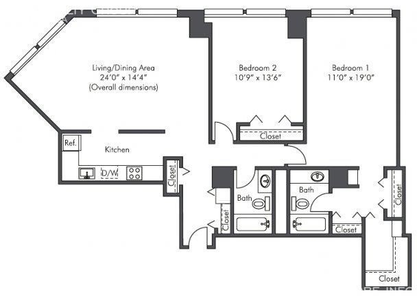 2 Bedrooms, West Loop Rental in Chicago, IL for $2,340 - Photo 1