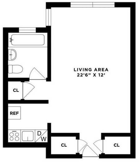 Studio, Greenwich Village Rental in NYC for $2,900 - Photo 2