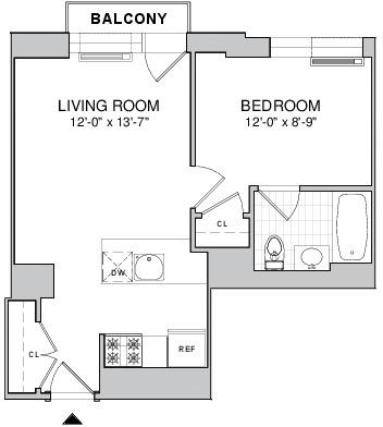 1 Bedroom, Brooklyn Heights Rental in NYC for $2,738 - Photo 2