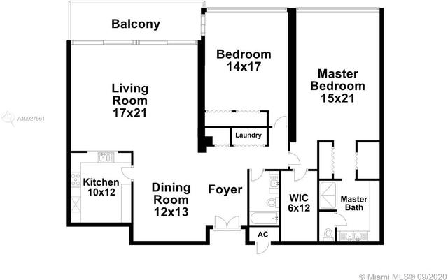 2 Bedrooms, Fair Isle Rental in Miami, FL for $4,400 - Photo 2