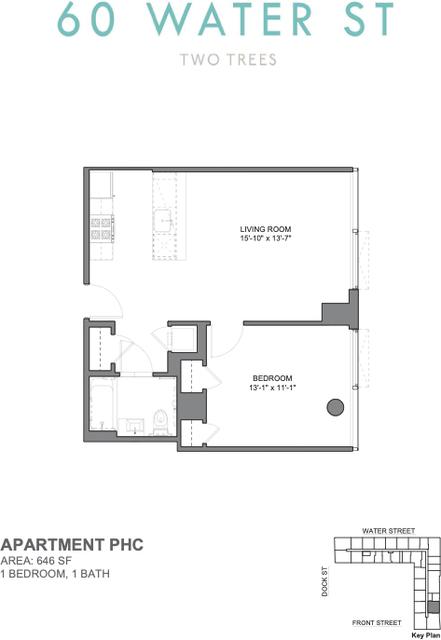 1 Bedroom, DUMBO Rental in NYC for $3,446 - Photo 2