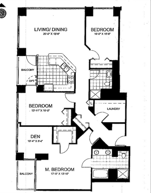 3 Bedrooms, River North Rental in Chicago, IL for $5,000 - Photo 2