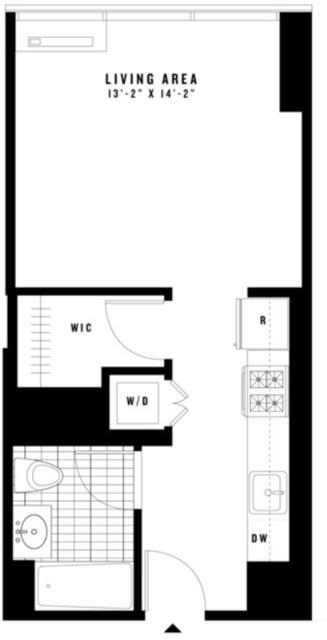 Studio, Chelsea Rental in NYC for $2,627 - Photo 2