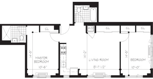 2 Bedrooms, Williamsburg Rental in NYC for $4,611 - Photo 2