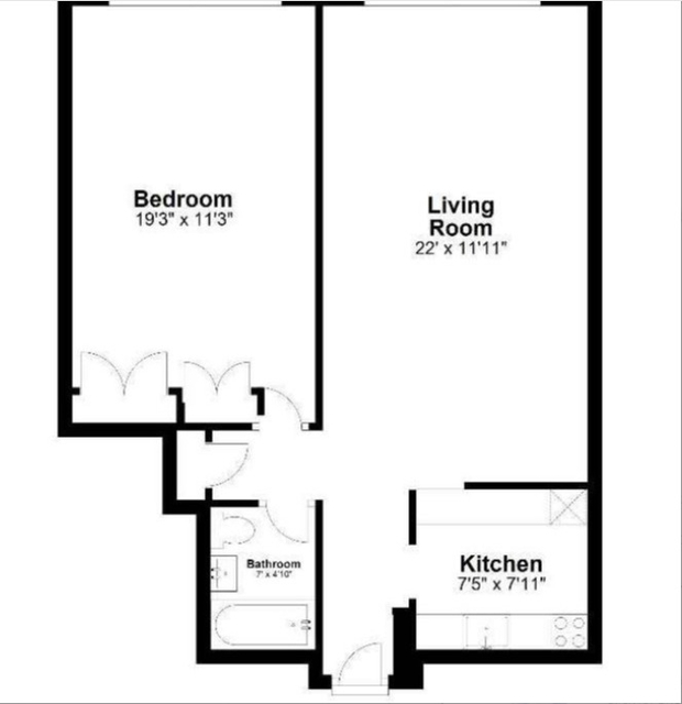 1 Bedroom, Theater District Rental in NYC for $2,291 - Photo 2