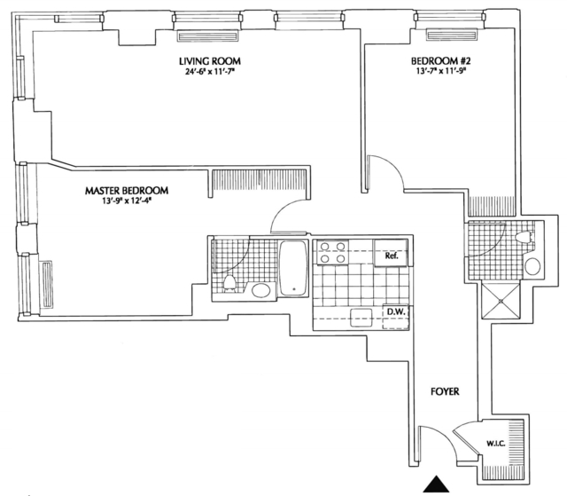 2 Bedrooms, Financial District Rental in NYC for $4,714 - Photo 2