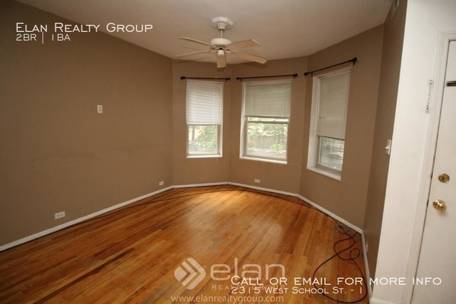 2 Bedrooms, Roscoe Village Rental in Chicago, IL for $1,500 - Photo 1