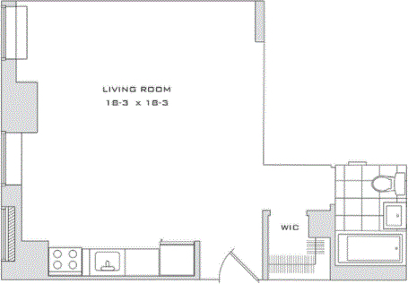 Studio, Financial District Rental in NYC for $2,052 - Photo 2