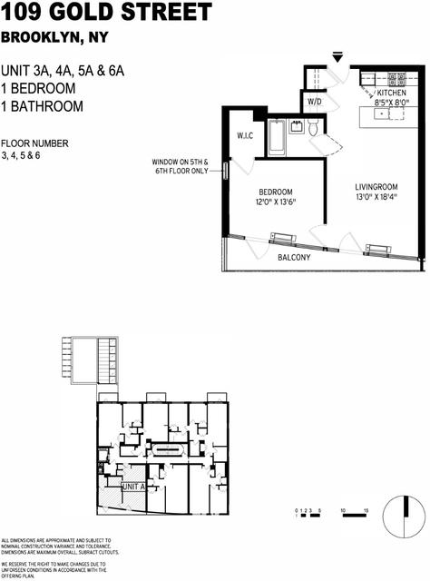 1 Bedroom, Vinegar Hill Rental in NYC for $2,344 - Photo 2