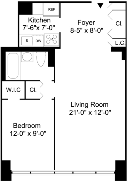 1 Bedroom, Yorkville Rental in NYC for $2,579 - Photo 2