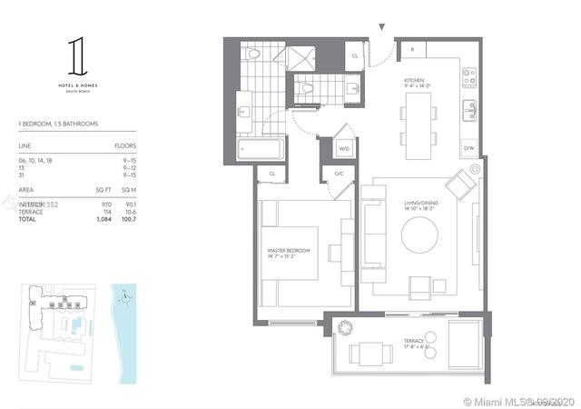 1 Bedroom, Oceanfront Rental in Miami, FL for $7,000 - Photo 2