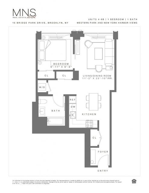 1 Bedroom, Brooklyn Heights Rental in NYC for $3,450 - Photo 2