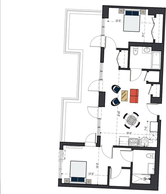2 Bedrooms, Bushwick Rental in NYC for $4,239 - Photo 2