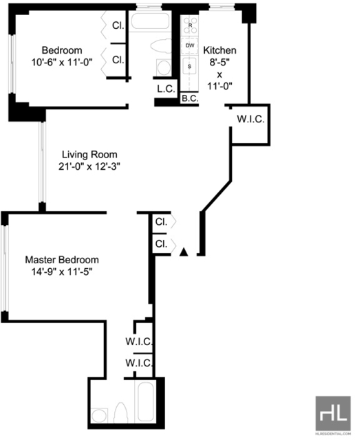 2 Bedrooms, Yorkville Rental in NYC for $3,913 - Photo 2