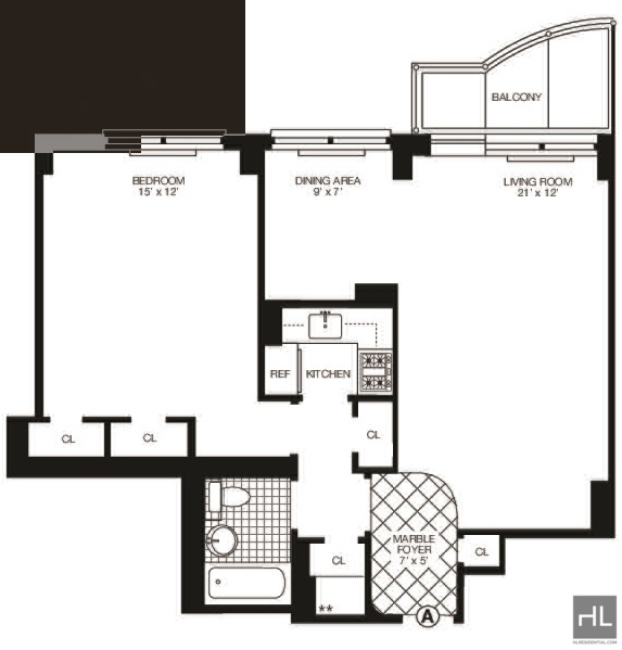 1 Bedroom, Midtown East Rental in NYC for $3,400 - Photo 2