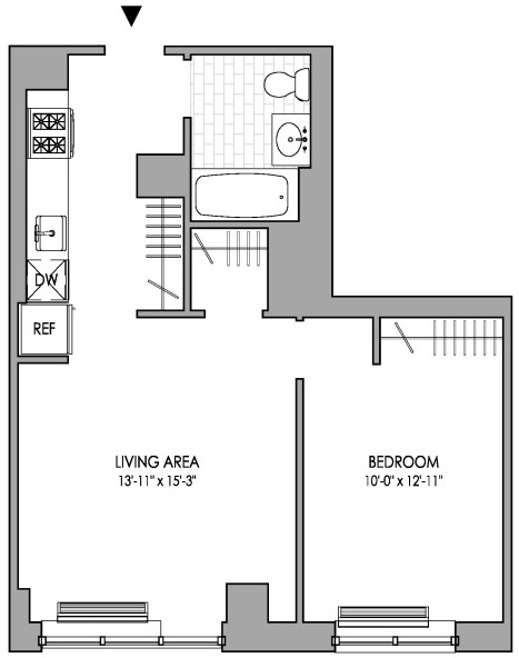 1 Bedroom, Hell's Kitchen Rental in NYC for $2,875 - Photo 2