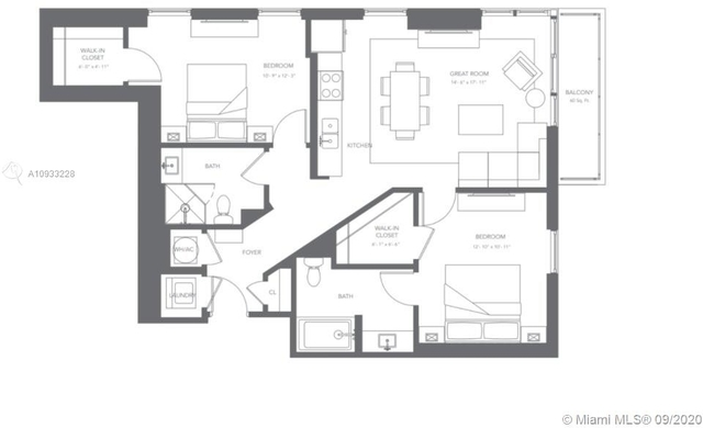 2 Bedrooms, Midtown Miami Rental in Miami, FL for $2,474 - Photo 2