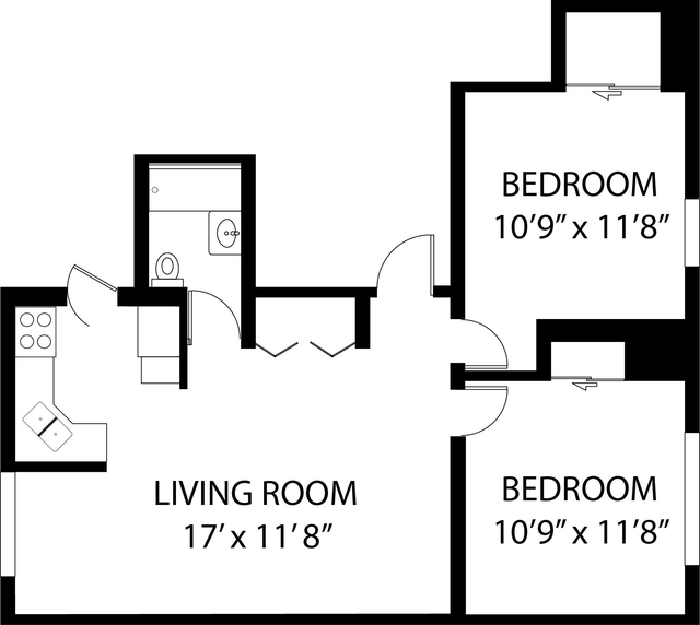 2 Bedrooms, Ravenswood Rental in Chicago, IL for $1,731 - Photo 1