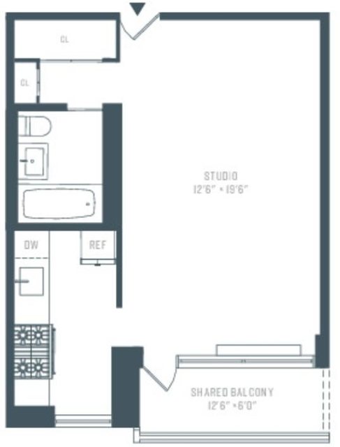 Studio, Manhattan Valley Rental in NYC for $2,120 - Photo 2