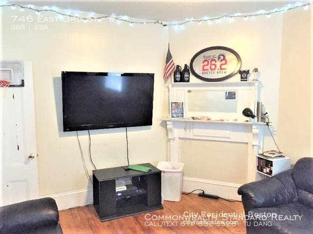 3 Bedrooms, City Point Rental in Boston, MA for $3,000 - Photo 1