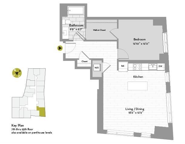 1 Bedroom, St. Marks Rental in Boston, MA for $4,350 - Photo 1