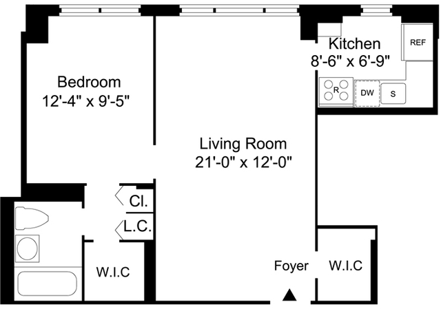 1 Bedroom, Yorkville Rental in NYC for $2,995 - Photo 2