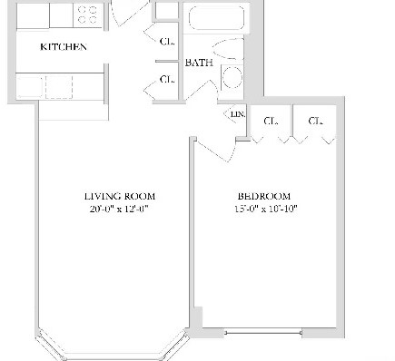 1 Bedroom, Rose Hill Rental in NYC for $3,429 - Photo 1